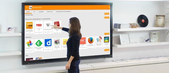 Les critères de choix d'un écran interactif tactile